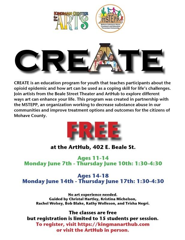 """Create"" Workshop Ages 14-18"