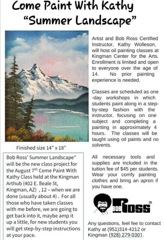 "Come Paint with Kathy ""Summer Landscape"""