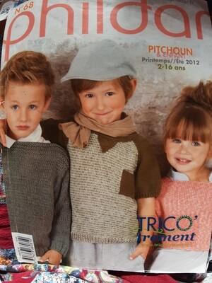 Album tricot phildar 68