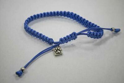 Caring Cord Bracelet- Blue