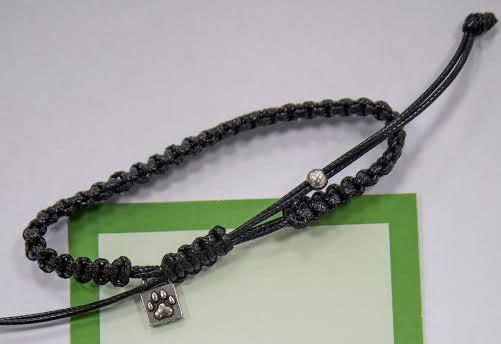 Caring Cord Bracelet- Black