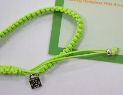 Caring Cord Bracelet- Green