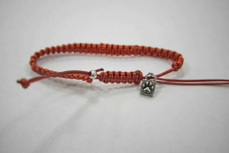 Caring Cord Bracelet- Red