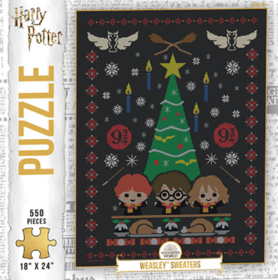 PZ Harry Potter Weasley Sweaters (550)