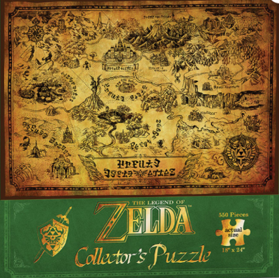 PZ Zelda Collector's Puzzle