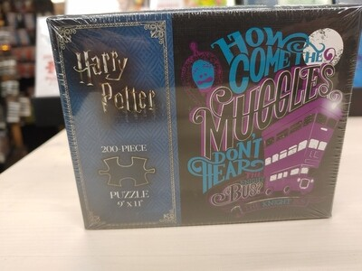 PZ Harry Potter How Come the Muggles Don't Hear (200)