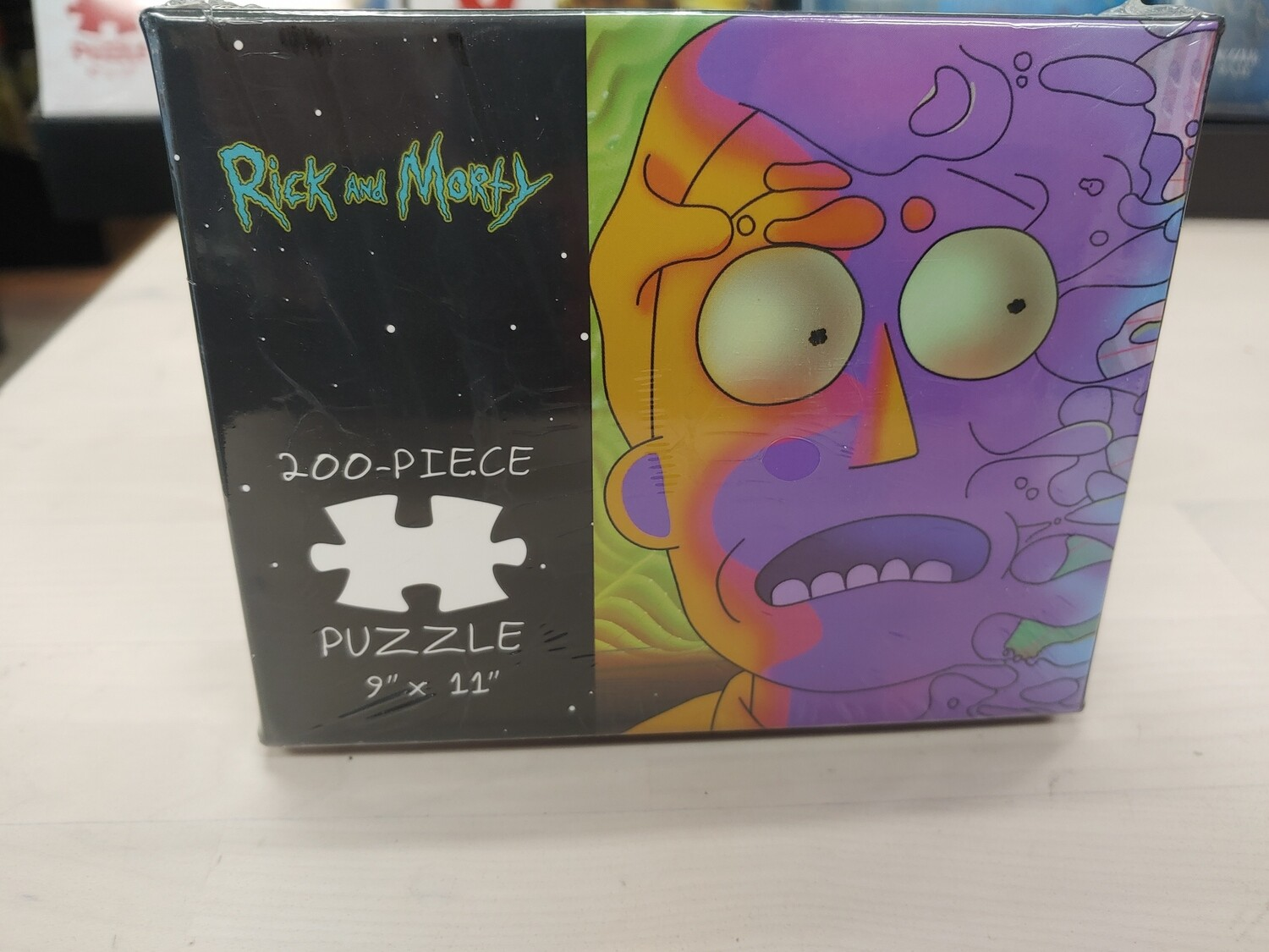 PZ Rick and Morty Psychedelic Jerry (200)