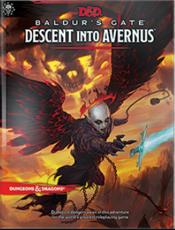 D&D Baldur's Gate Descent into Avernus