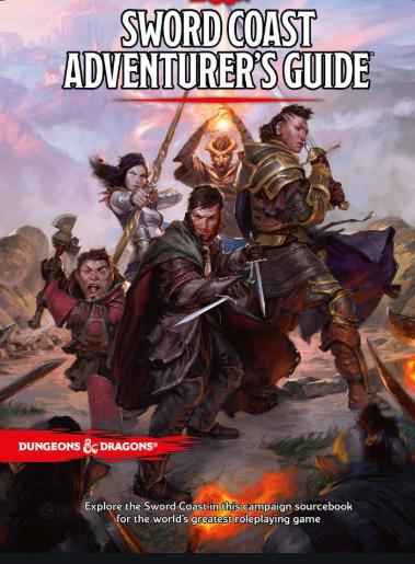 D&D Sword Coast Adventurer's Guide
