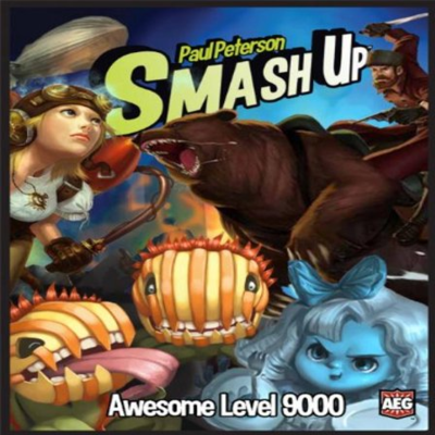 BG Smash Up Awesome Level 9000 Expansion