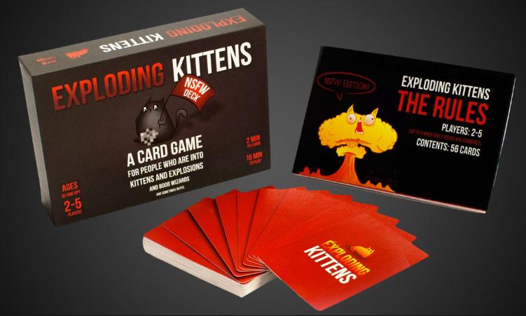BG Exploding Kittens NSFW Edition