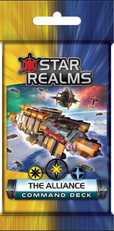 BG Star Realms The Alliance Command Deck