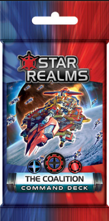 BG Star Realms The Coalition Command Deck
