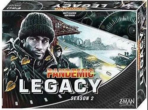 BG Pandemic Legacy Season 2 Black