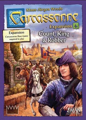 BG Carcassonne Count, King & Robber