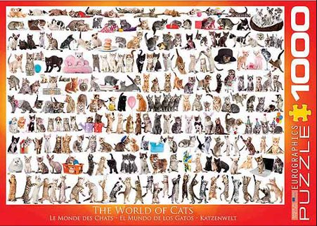 PZ The World of Cats (1000)