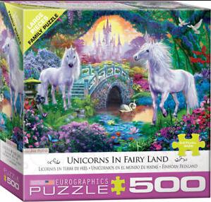 PZ Unicorns in Fairy Land (500)