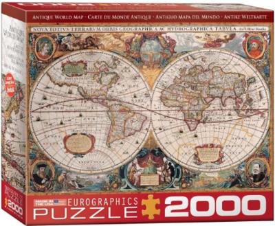 PZ Antique World Map (2000)