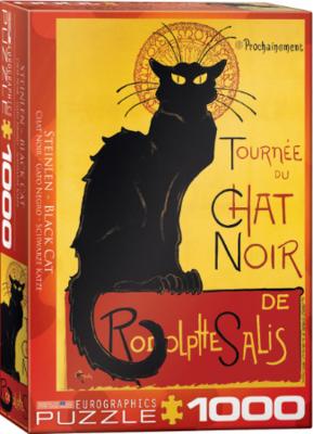 PZ Black Cat by T.A. Steinlen (1000)