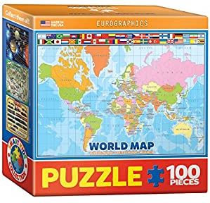 PZ Illustrated Map of the World (100)