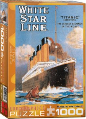 PZ Titanic White Star Line (1000)