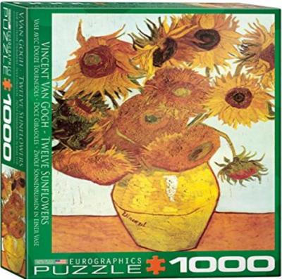 PZ Sunflower by Vincent van Gogh (1000)