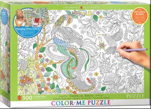 PZ Tropical Birds Color-Me (500)
