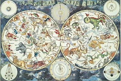 PZ World Map of Fantastic Beasts 1500