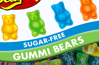 Sugar Free Gummi Bears by Jelly Belly