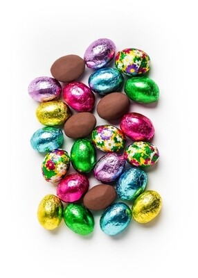 Milk Chocolate Foil Eggs