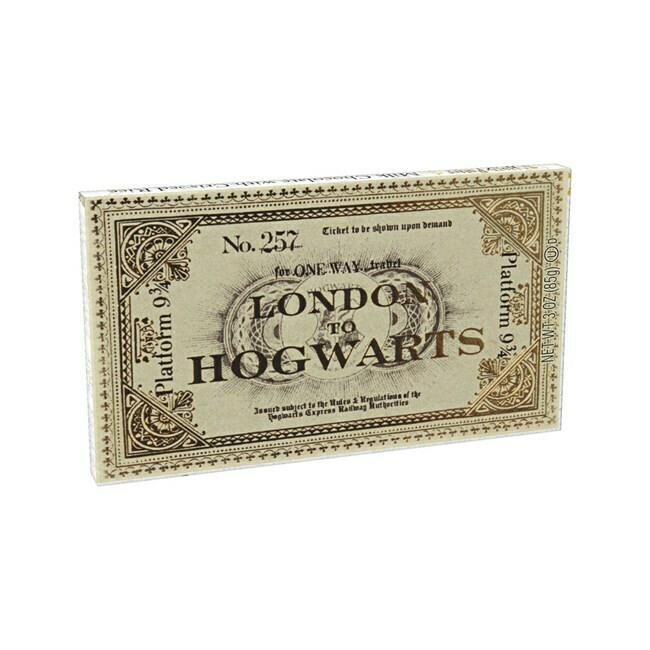 Ticket To Hogwarts Chocolate