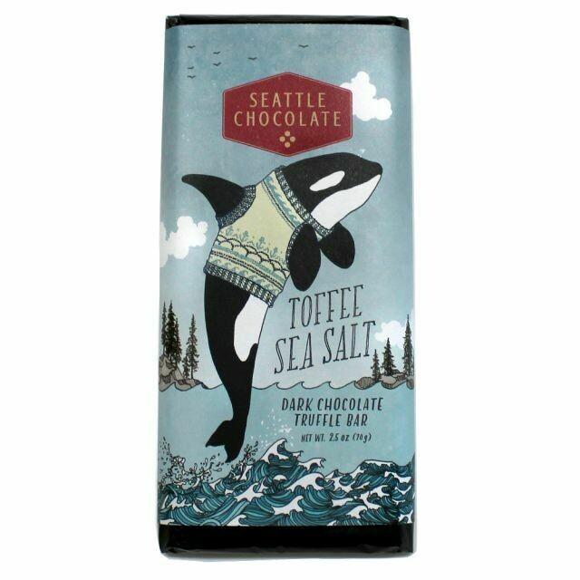 Toffee Sea Salt Bar