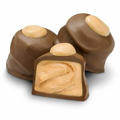 Peanut Butter Buckeyes Milk