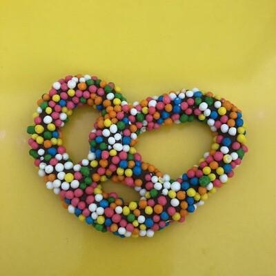 Rainbow Crispy Pearls Pretzel