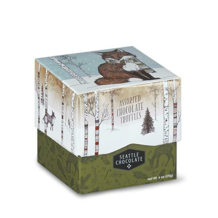 Fox Truffle Gift Box