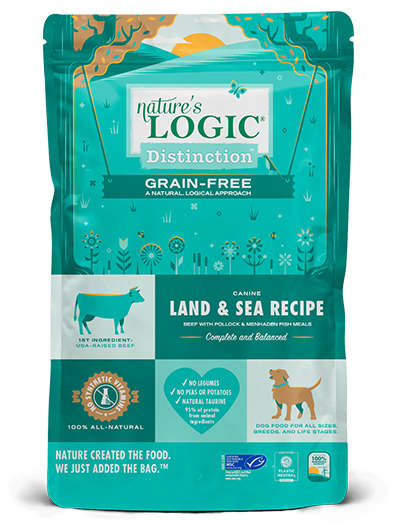 NL Dog Distinction Grain Free Land and Sea 24#