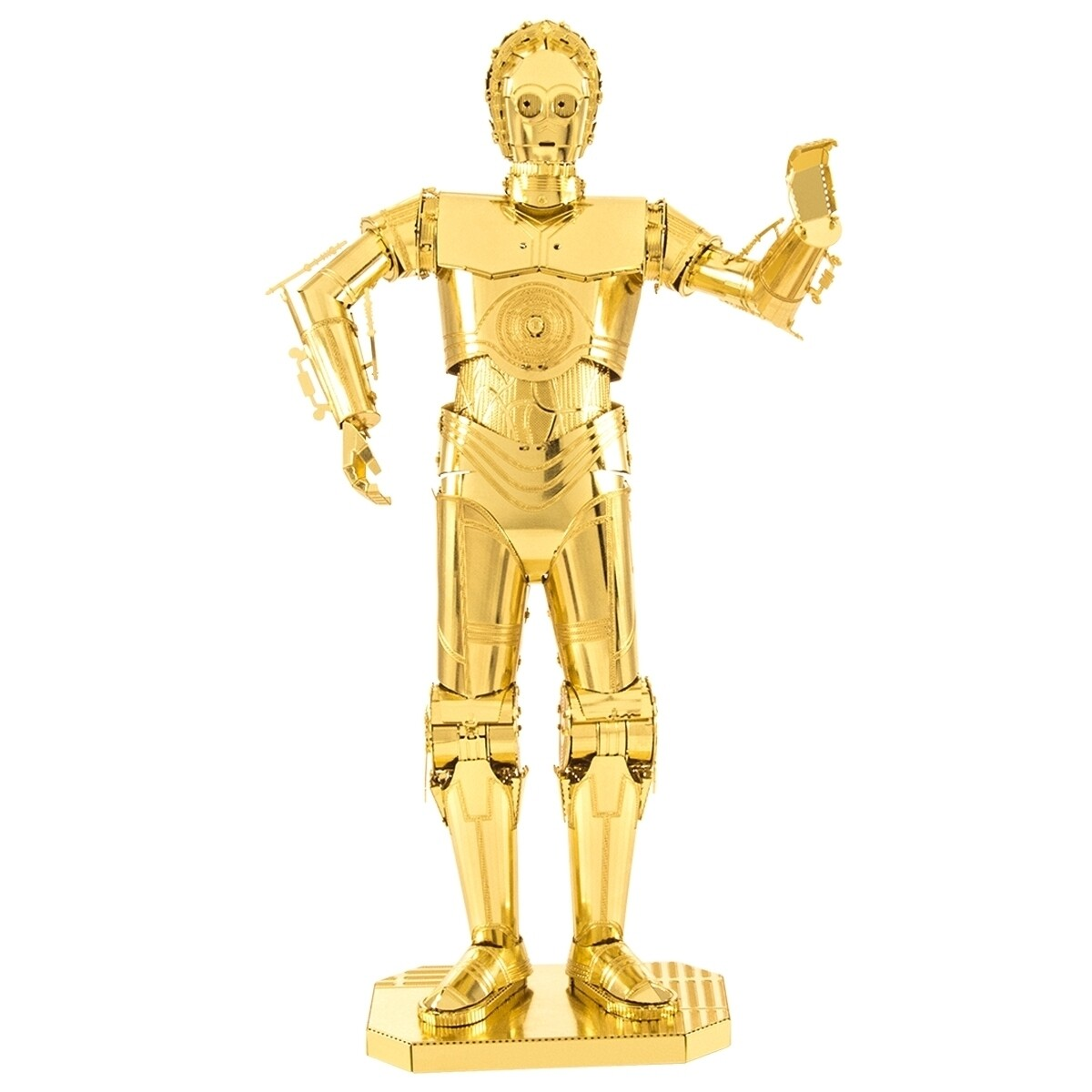 METAL EARTH C-3PO GOLD STAR WARS