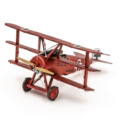 METAL EARTH FOKKER DR I TRIPLANE