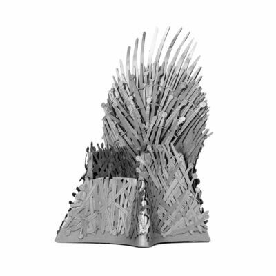 METAL EARTH ICONX IRON THRONE GAME OF THRONES