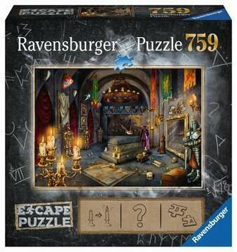 759PC ESCAPE PUZZLE-VAMPIRES CASTLE