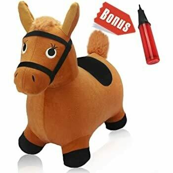HOPPING HORSE BROWN