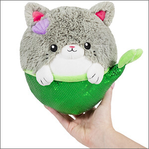 SQUISHABLE MINI MERMAID KITTY 7