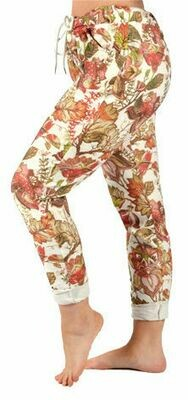 Catherine Lillywhite's-Leaf Print Jean