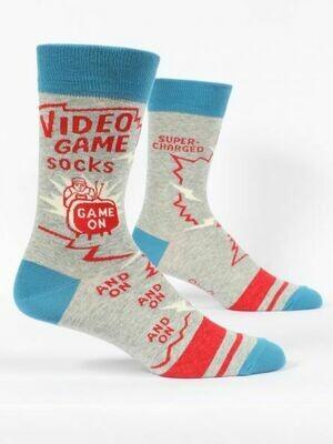 Blue Q Mens Socks - Video Game Socks