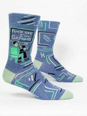 Blue Q Mens Socks - Fuck Off, I'm Gaming