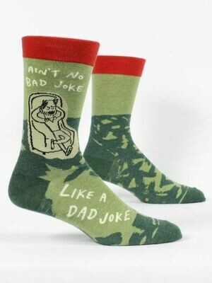 Blue Q Mens Socks - Ain't No Bad Joke Like A Dad Joke