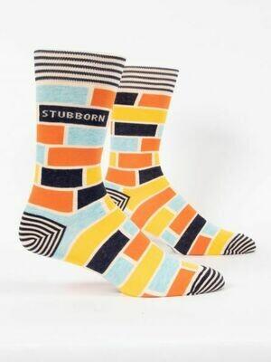 Blue Q Mens Socks - Stubborn