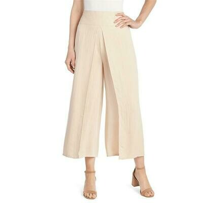 Coco & Carmen-Flap Front Pant-Rugby Tan - L/XL