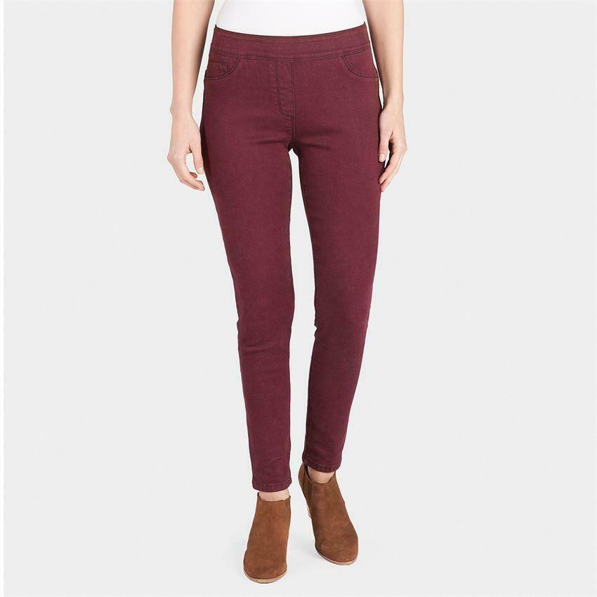 Coco & Carmen-OMG Colored Skinny Jeans-Fig - M