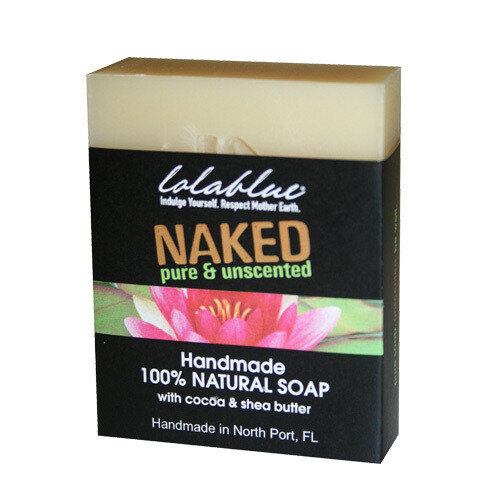 LolaBlue-  Soap  naked (unscented)